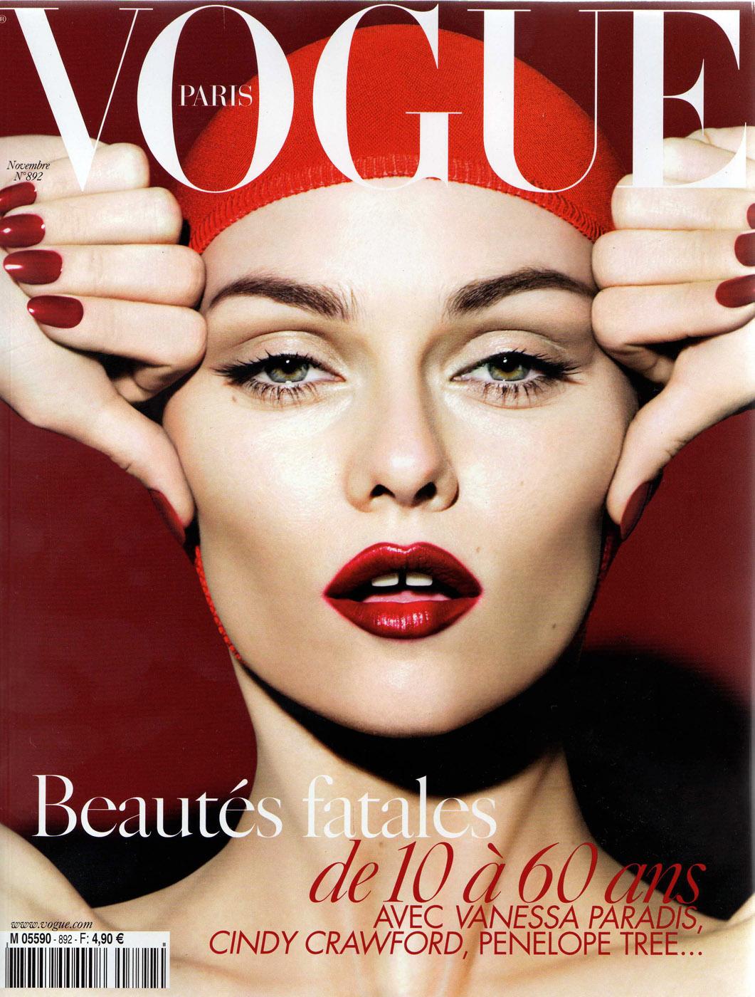 Magazine Cover Girls: November 08′ Magazine Covers