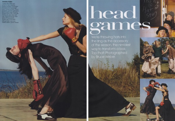 Vogue10-09_HeadGames01_phBruceWeber